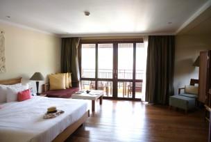 リゾートホテルの客室